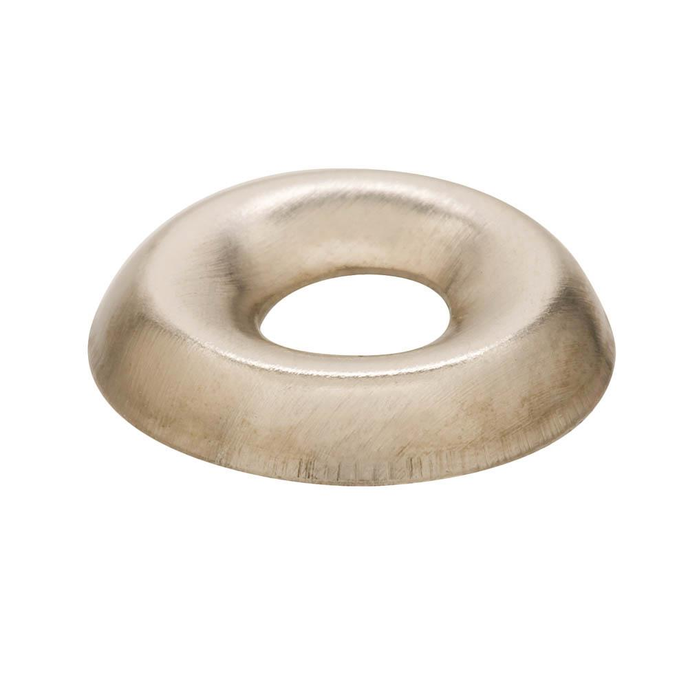 Everbilt #10 Nickel Plated Finishing Washer (100-Pieces)
