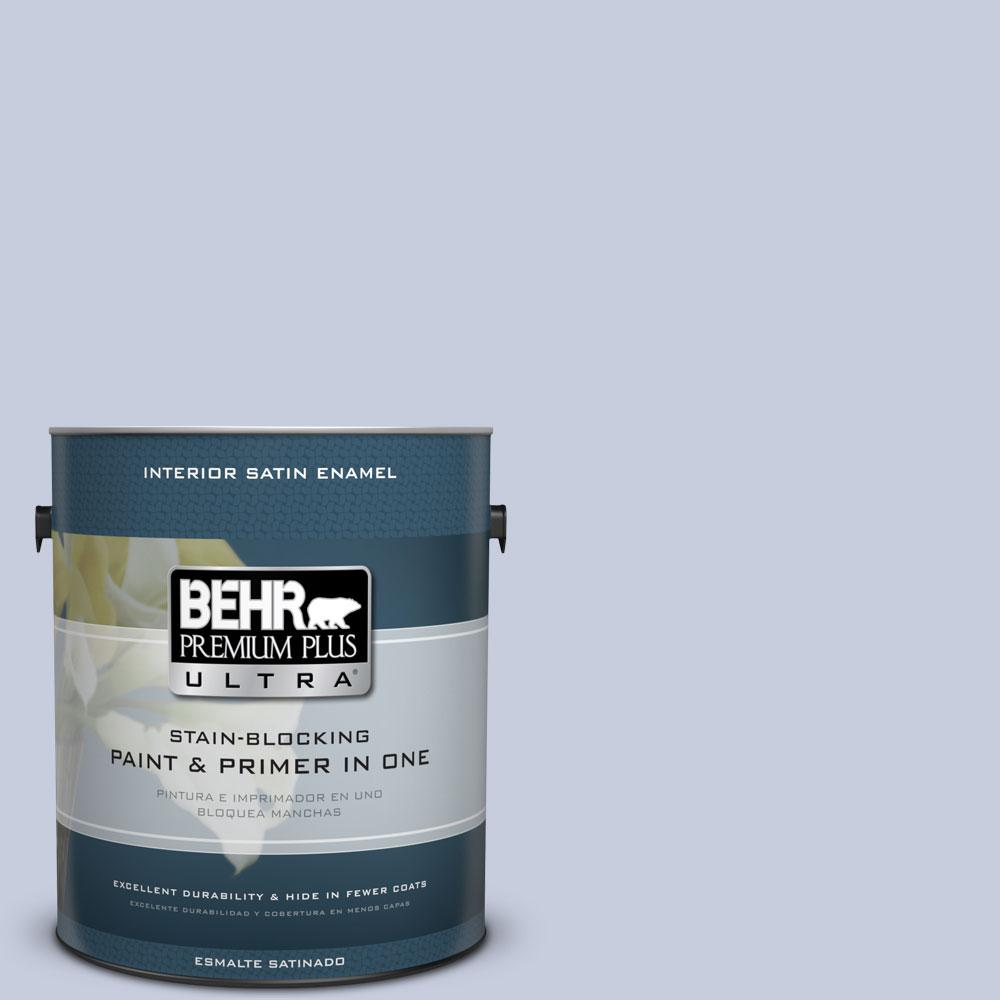 BEHR Premium Plus Ultra 1-Gal. #PPU15-17 Monet Satin Enamel Interior Paint