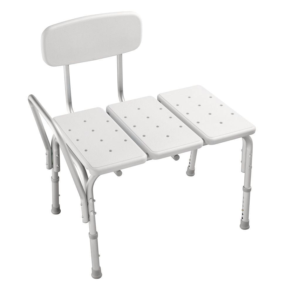 Delta adjustable tub transfer bench df565 the home depot Bath bench