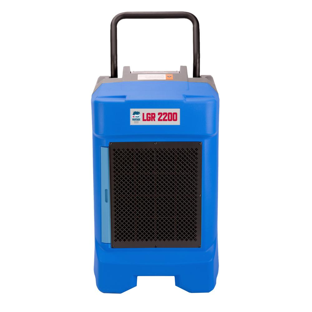225-Pint 400 CFM Commercial LGR Dehumidifier for Water Damage Restoration Mold