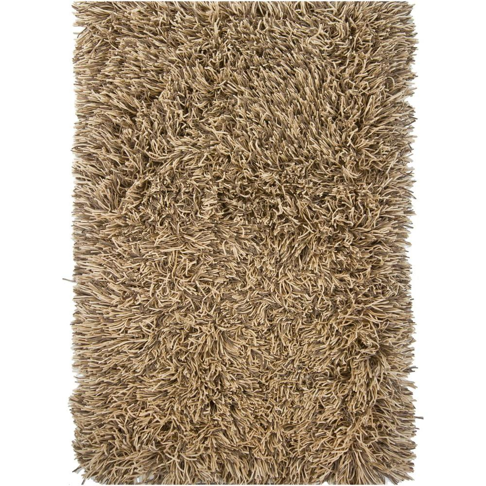 Chandra Cyrah Taupe/Tan/Ivory 9 ft. x 13 ft. Indoor Area Rug