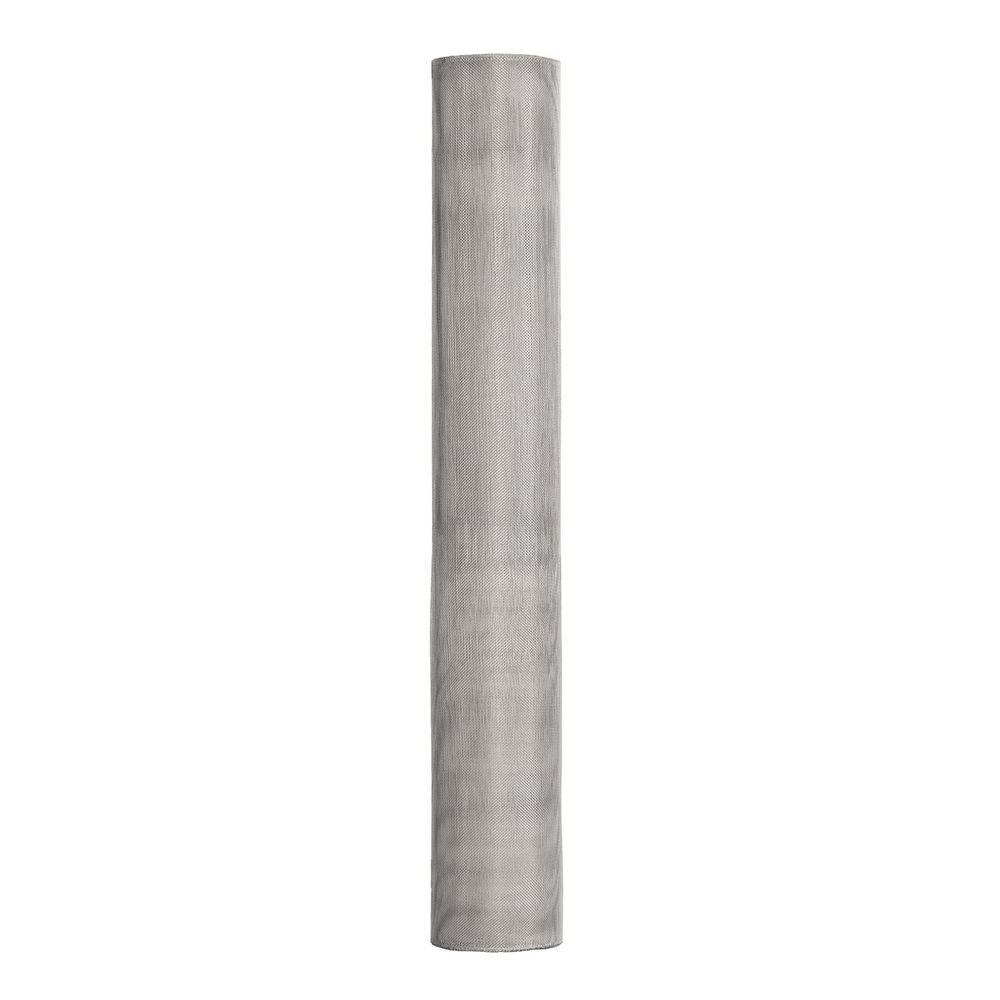 36 in. x 100 ft. Bright Aluminum Insect Screen FCS9296-M