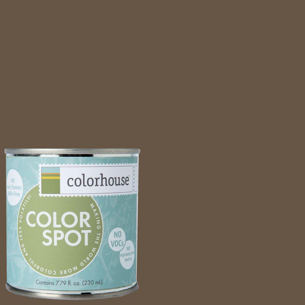 Colorhouse 8 oz. Clay .06 Colorspot Eggshell Interior Paint Sample-862267 -