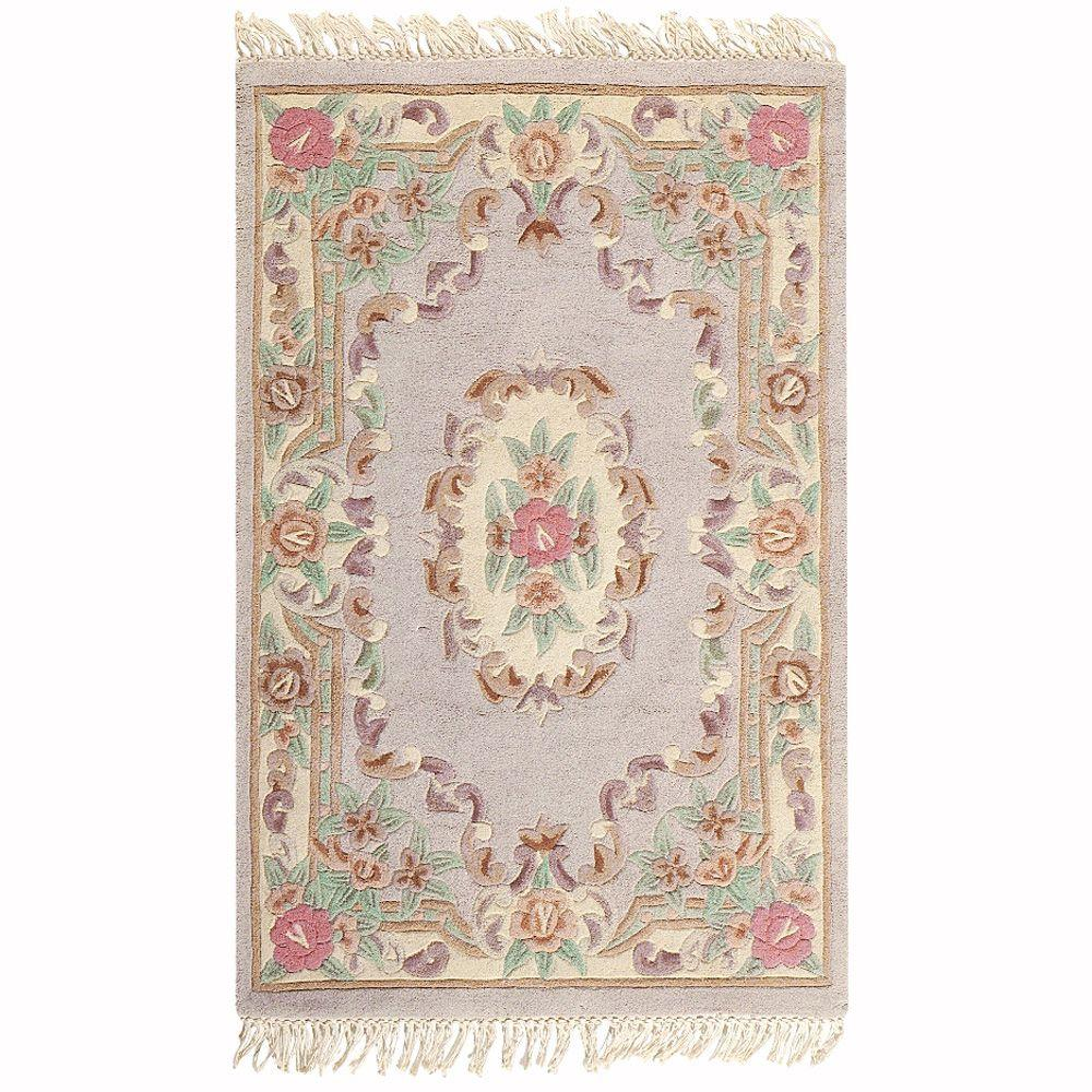 Imperial Shell Beige 1 ft. 9 in. x 2 ft. 9 in. Area Rug