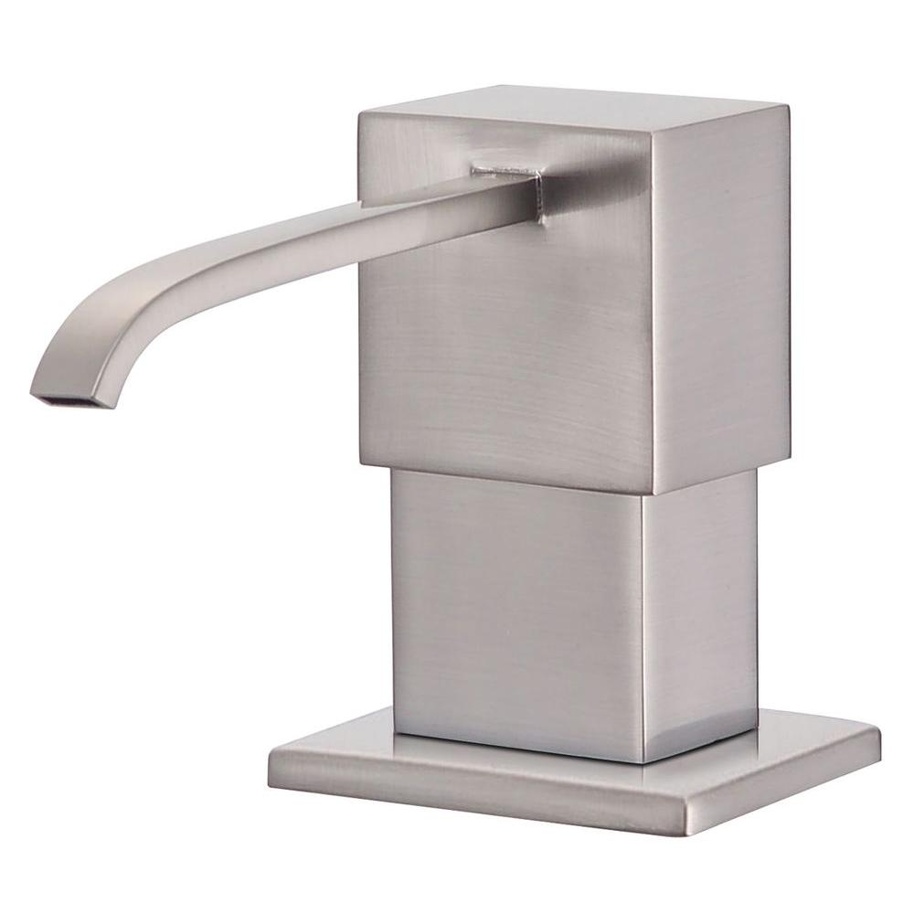 Danze Sirius Soap and Lotion Dispenser in Stainless Steel