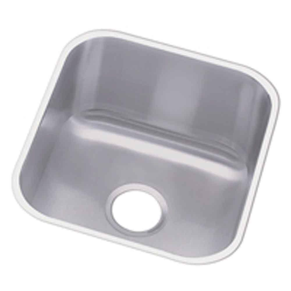 Revere Undermount Stainless Steel 17 in. 0-Hole Single Bowl Hospitality Sink