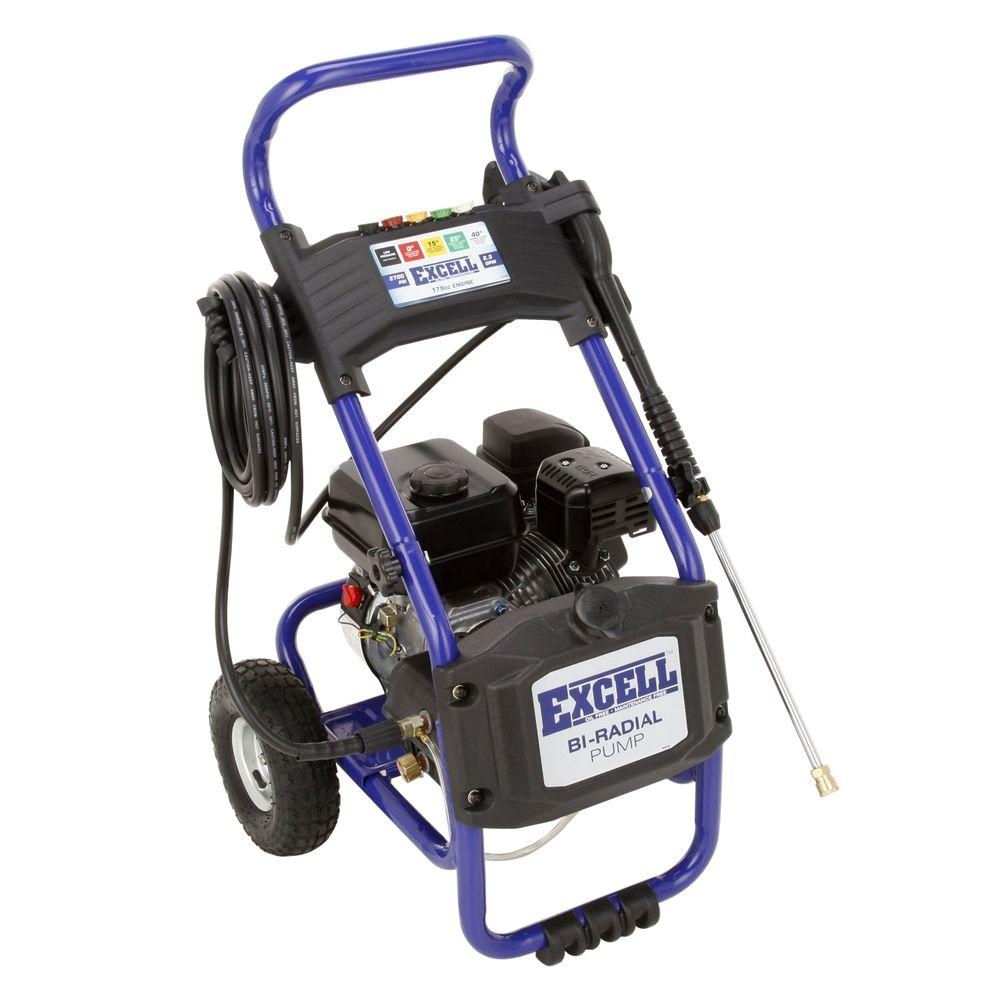 Excell 2700-PSI 2.3-GPM Gas Pressure Washer