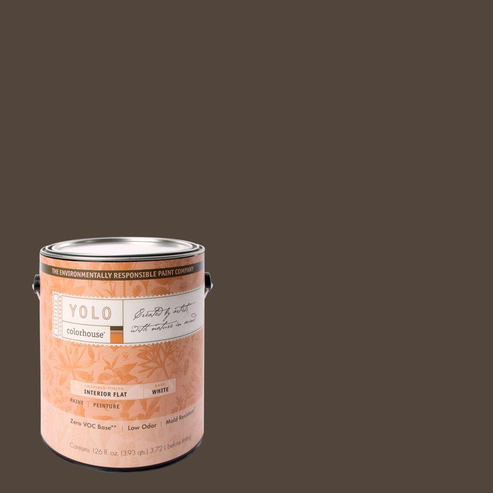 YOLO Colorhouse 1-gal. Nourish .05 Flat Interior Paint-DISCONTINUED