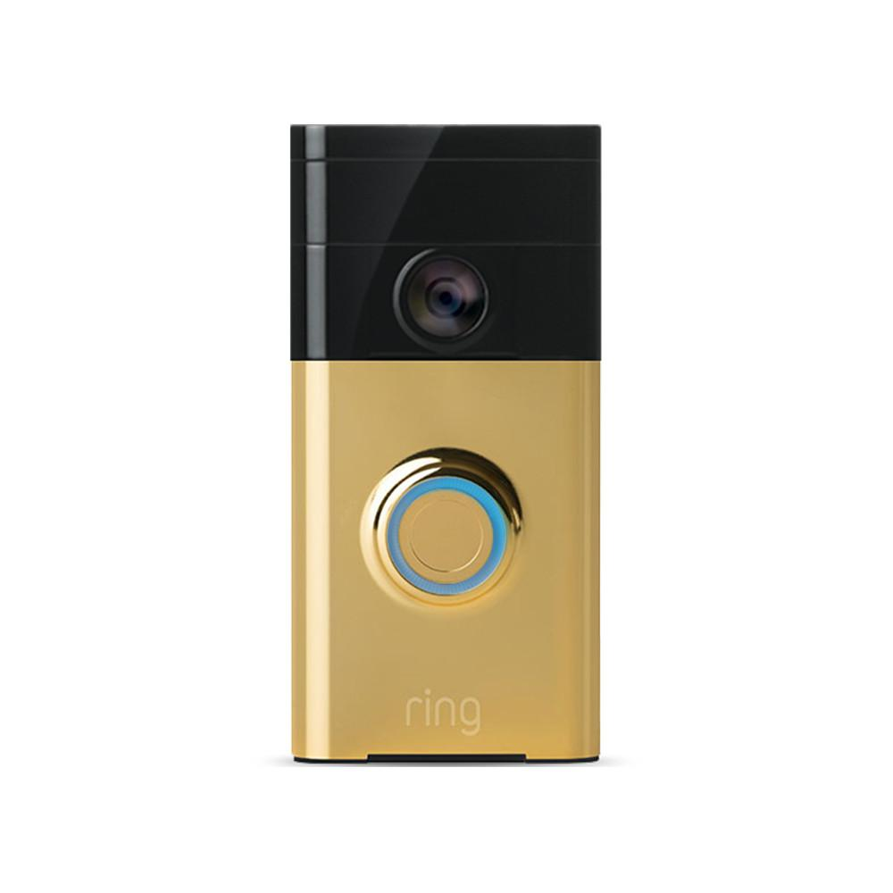 ring wireless video doorbell 88rg001fc100 the home depot. Black Bedroom Furniture Sets. Home Design Ideas