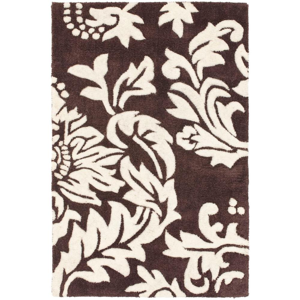 Safavieh Soho Brown/Ivory 2 ft. x 3 ft. Area Rug-SOH831A-2 -