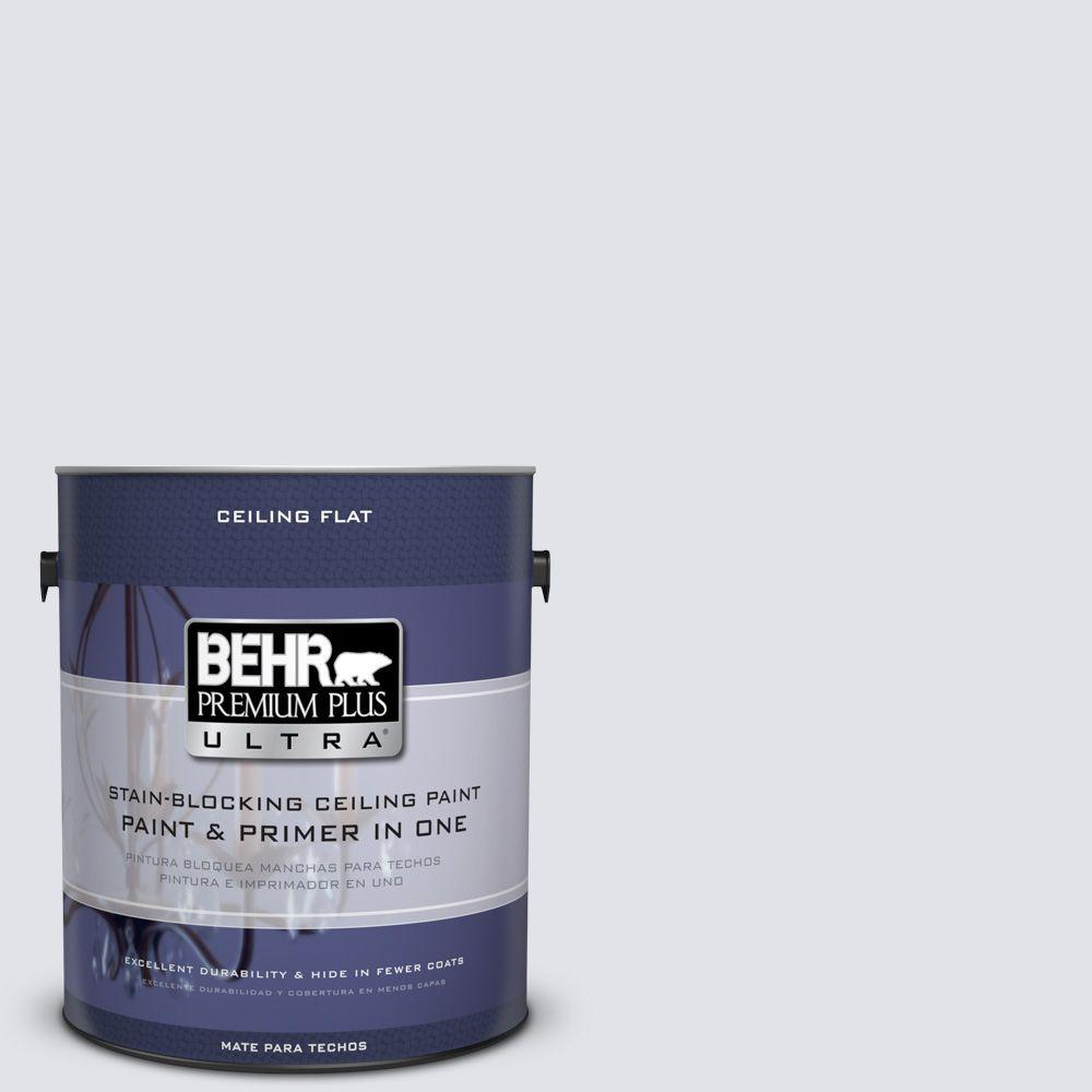 BEHR Premium Plus Ultra 1-Gal. #UL240-12 Ceiling tinted to Lilac Mist Interior Paint