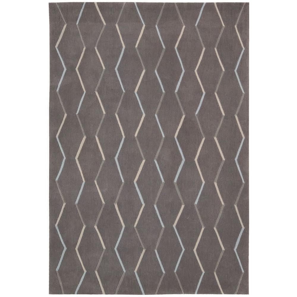 Contour Charcoal 7 ft. 3 in. x 9 ft. 3 in.