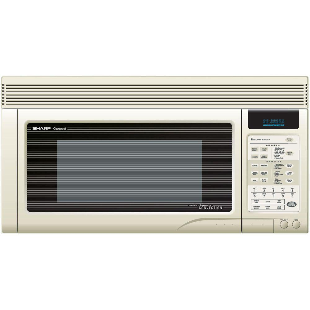 Sharp 1 cu. ft. Over the Range Convection Microwave in Bisque