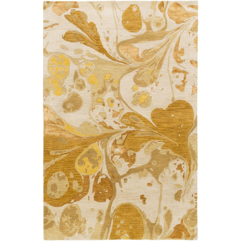 Minde Gold 3 ft. 3 in. x 5 ft. 3 in.