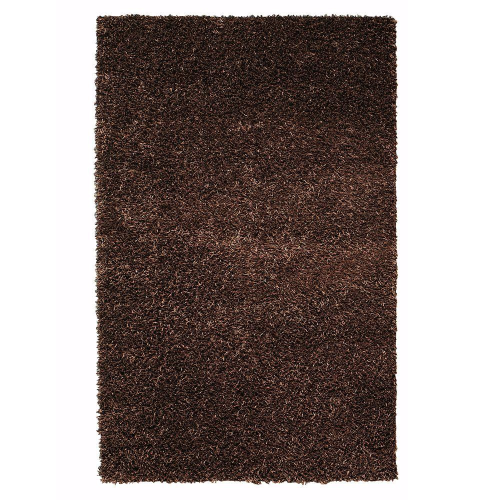 Home Decorators Collection Glitzy Brown 1 ft. 9 in. x 2 ft. 10 in. Area Rug