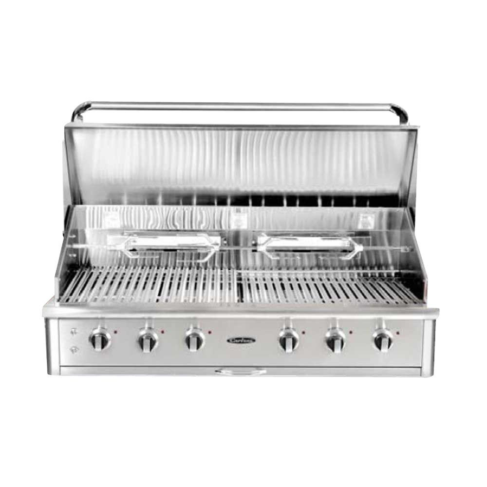 Capital Precision 6-Burner Built-In Stainless Steel Natural Gas Grill-HCG52RBIN
