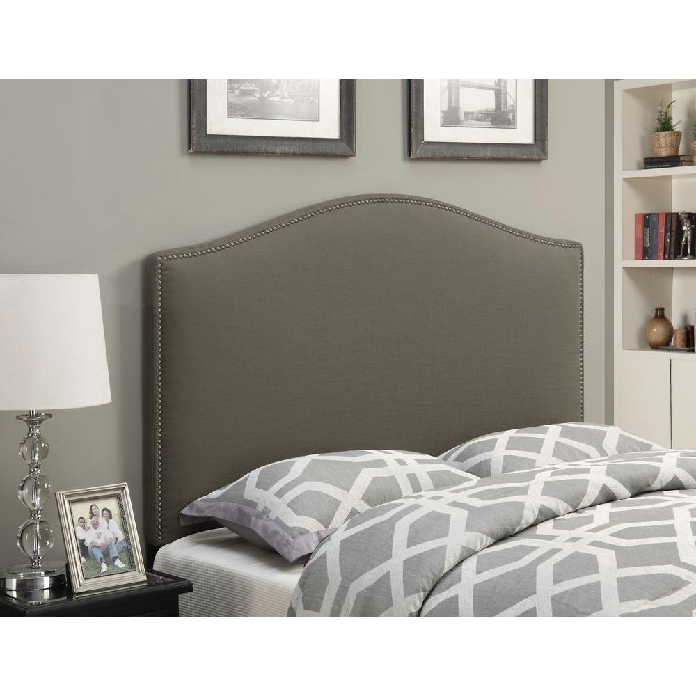 Pulaski Furniture Upholstered Full/Queen Headboard in Taupe-DS-D016-250-373 -