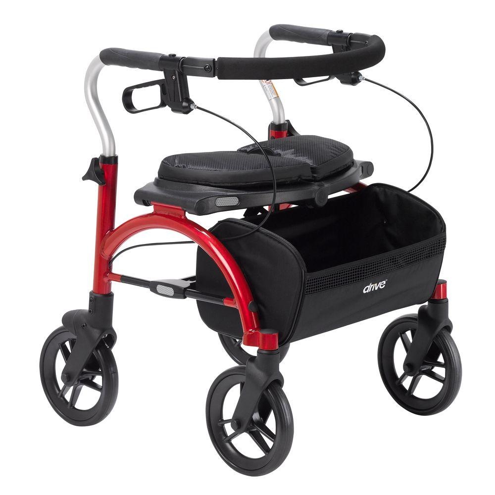 Arc Lite Rollator in Red