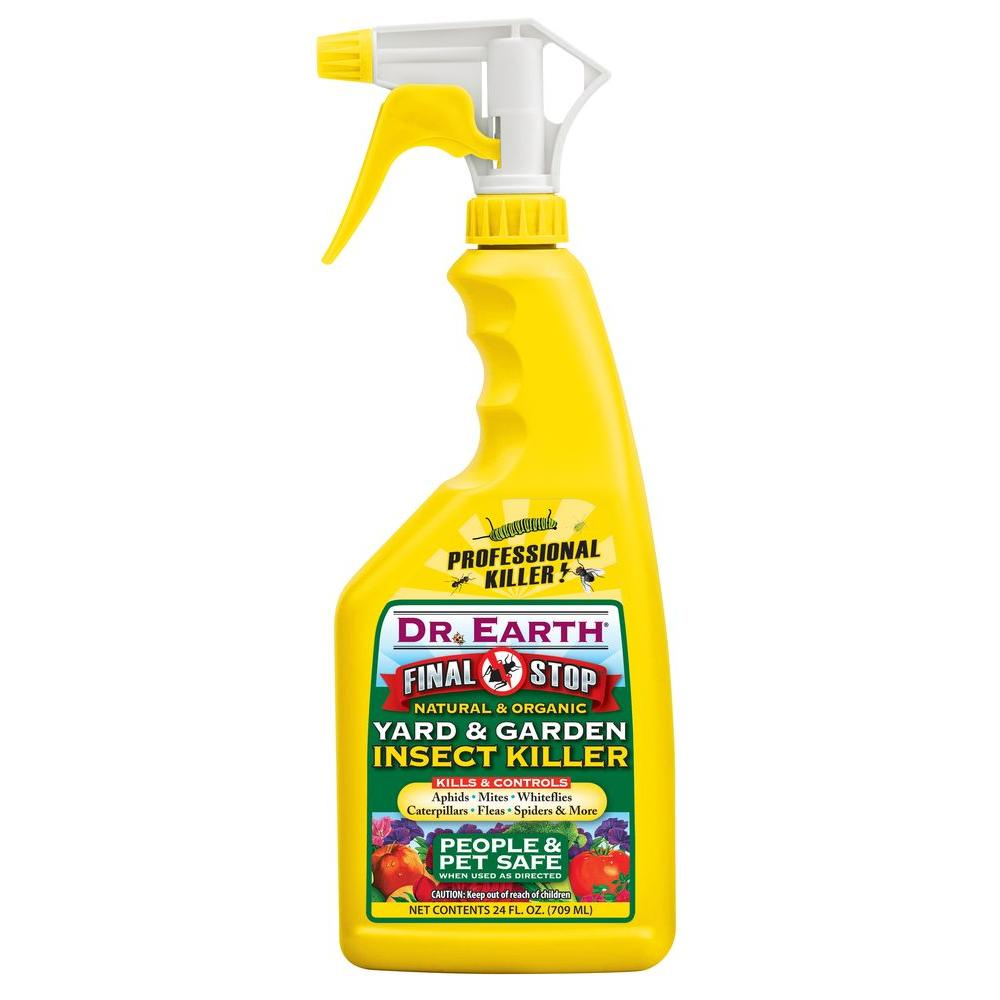 DR. EARTH 24 oz. Ready-to-Use Yard and Garden Insect Killer