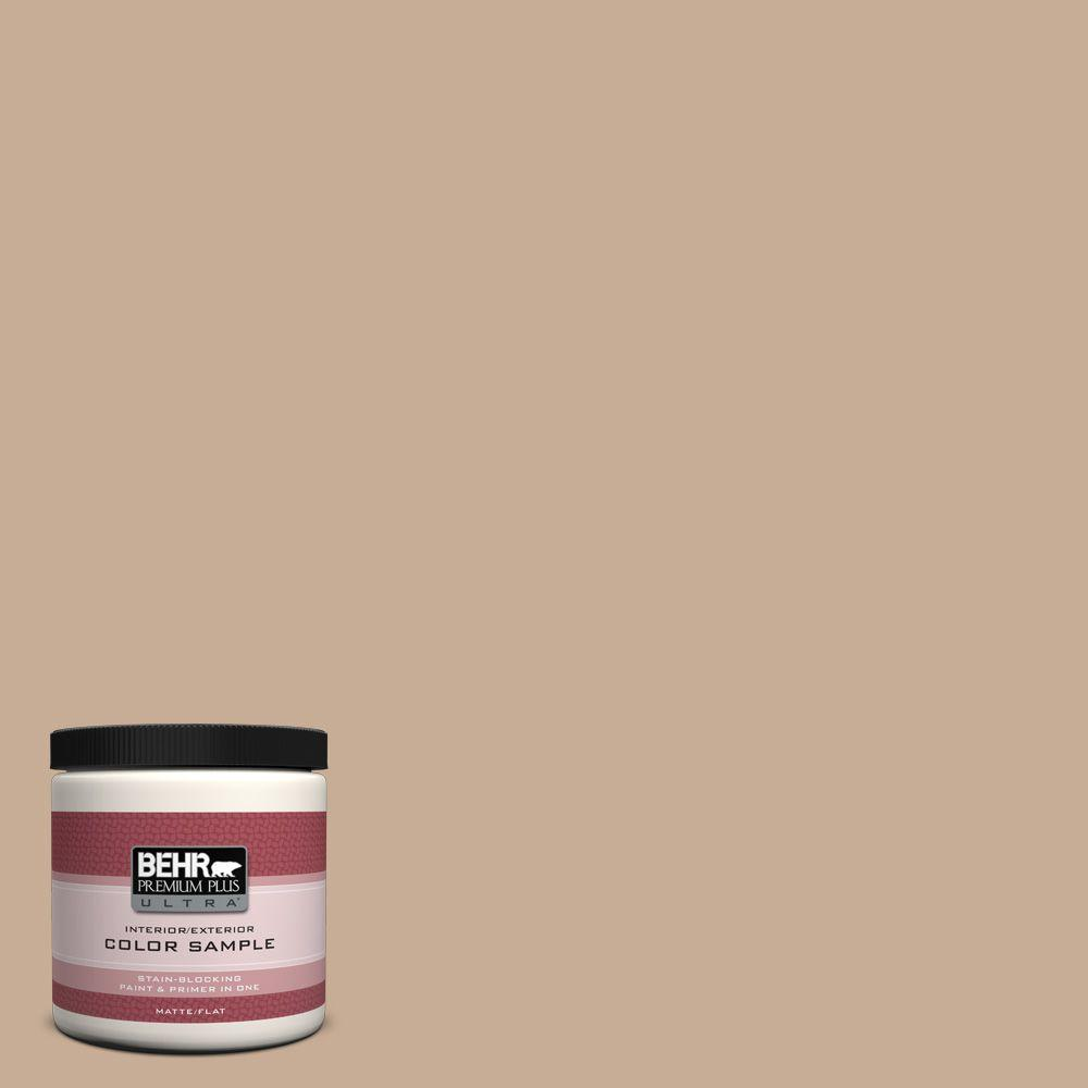 8 oz. #280E-3 Toasted Wheat Interior/Exterior Paint Sample