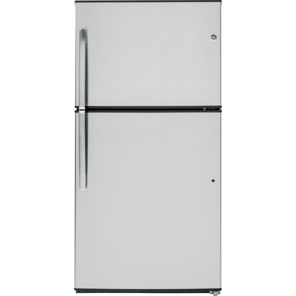 refrigerator 7 5 cu ft. frigidaire gallery 20.5 cu. ft. frost free upright freezer convertible to refrigerator in stainless steel, energy star-fgvu21f8qf - the home depot 7 5 cu ft t
