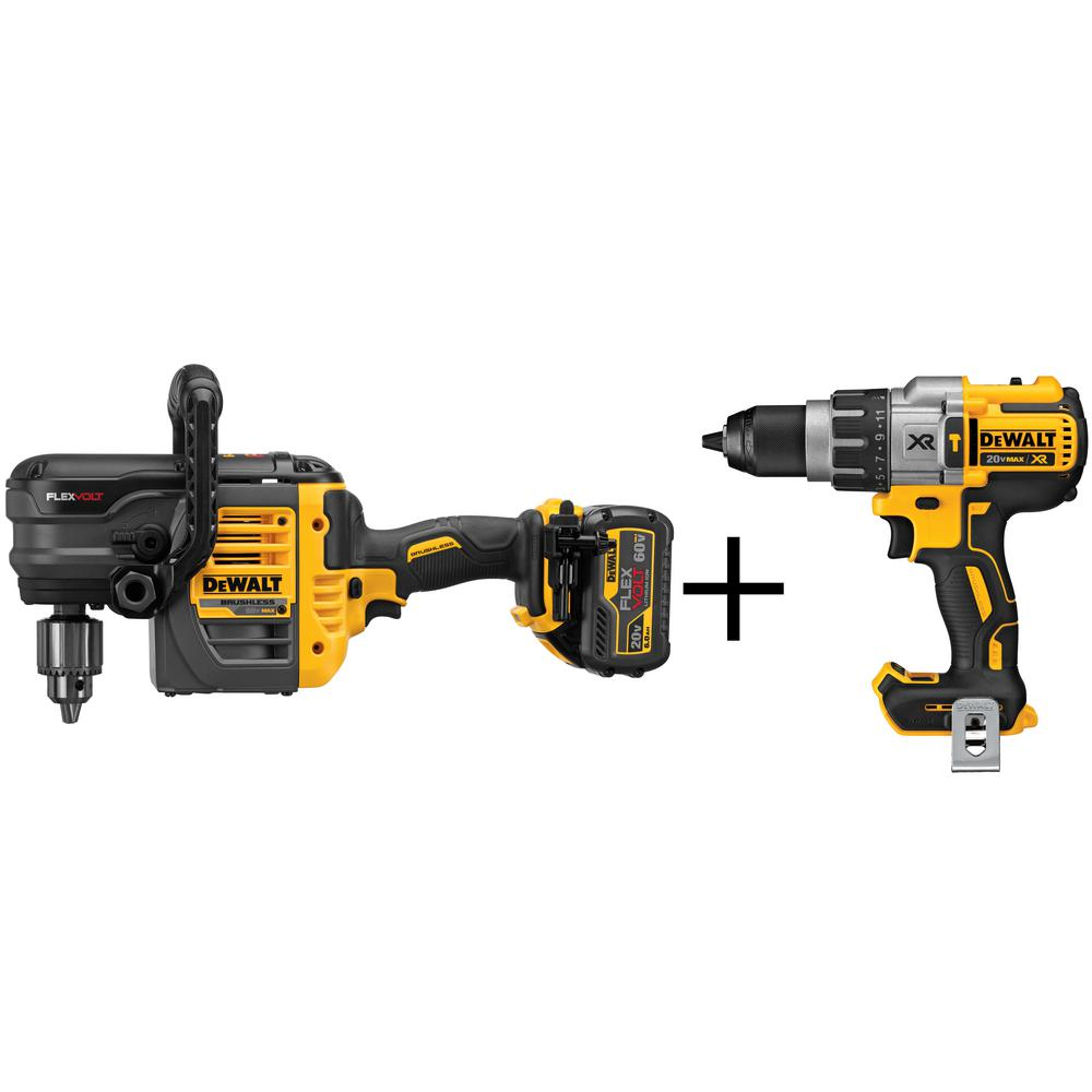 FLEXVOLT 60-Volt MAX Lithium-Ion Cordless 1/2 in. Stud and Joist Drill