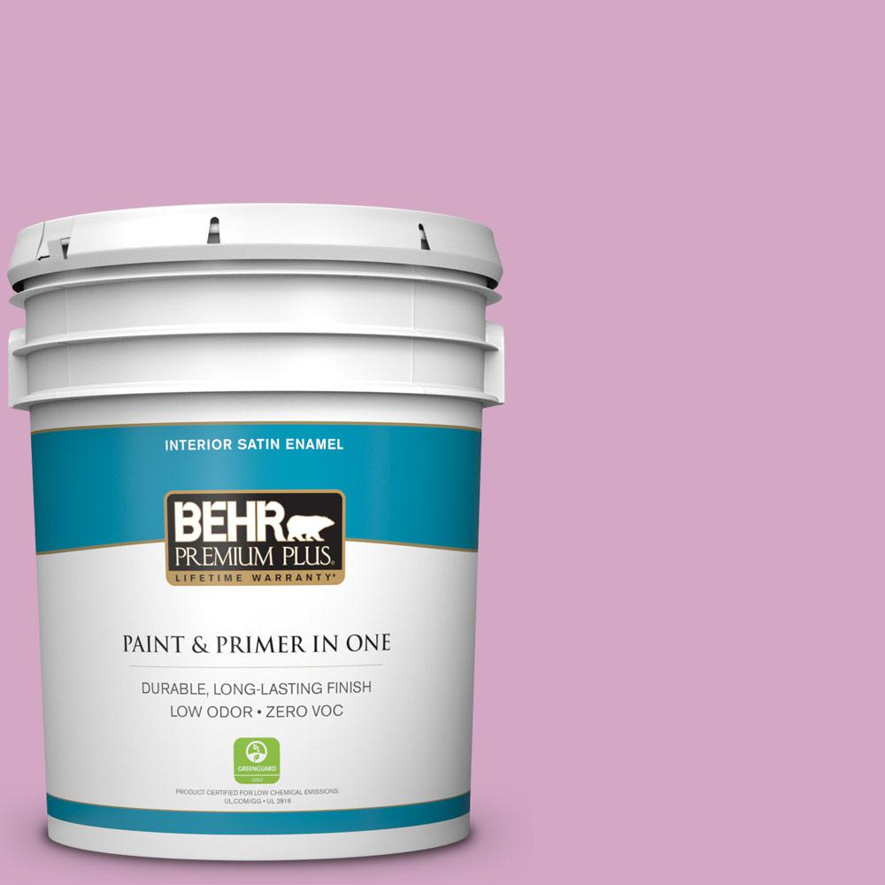 5-gal. #M120-4 Heart to Heart Satin Enamel Interior Paint