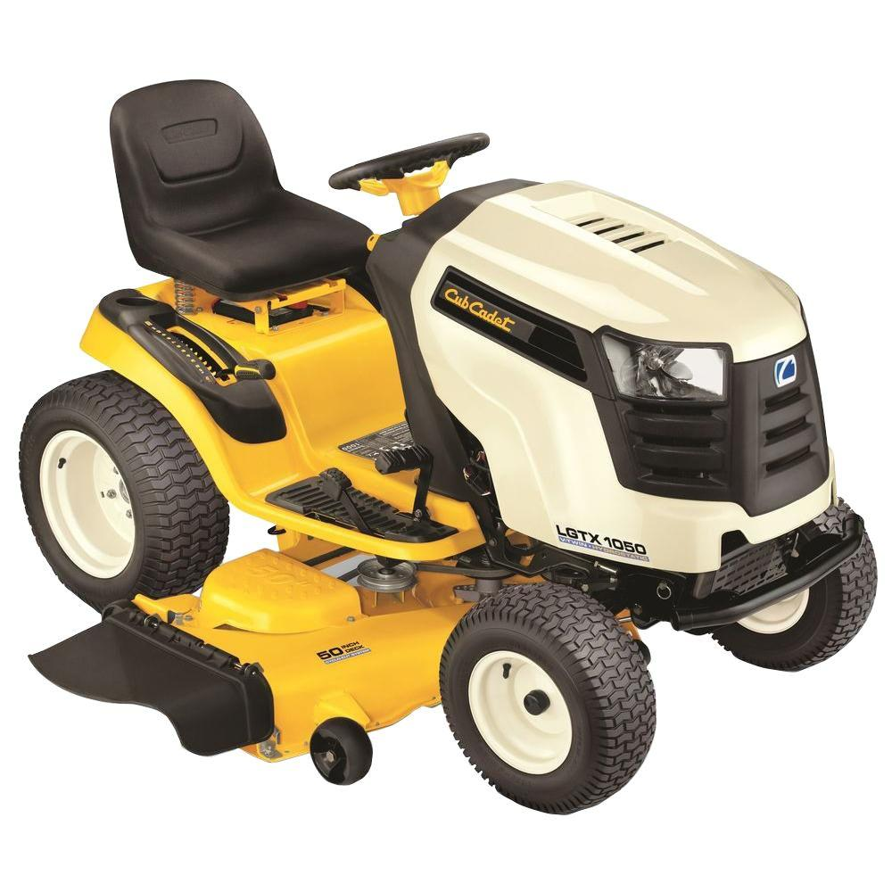 Cub Cadet LGTX1050 50 in. 25 HP V-Twin Hydrostatic Drive Front-Engine Riding Mower with Power Steering-DISCONTINUED