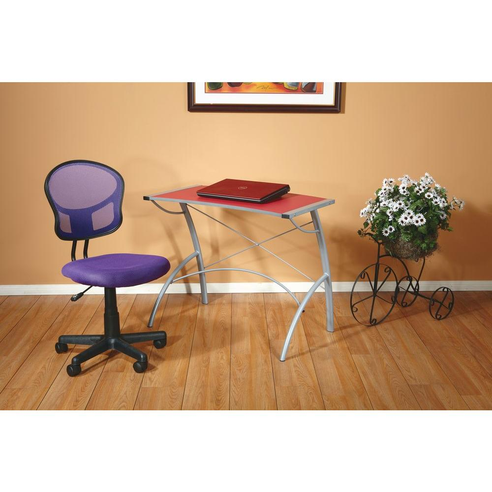 OSPdesigns Purple Office Chair EM39800 512 The Home Depot