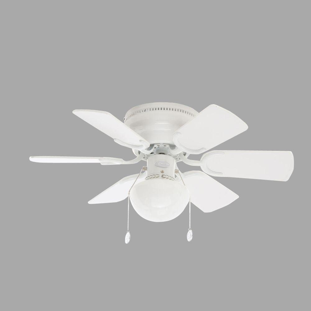 Westinghouse Petite 30 in. White Ceiling Fan-7810800 - The Home Depot:Petite 30 in. White Ceiling Fan,Lighting