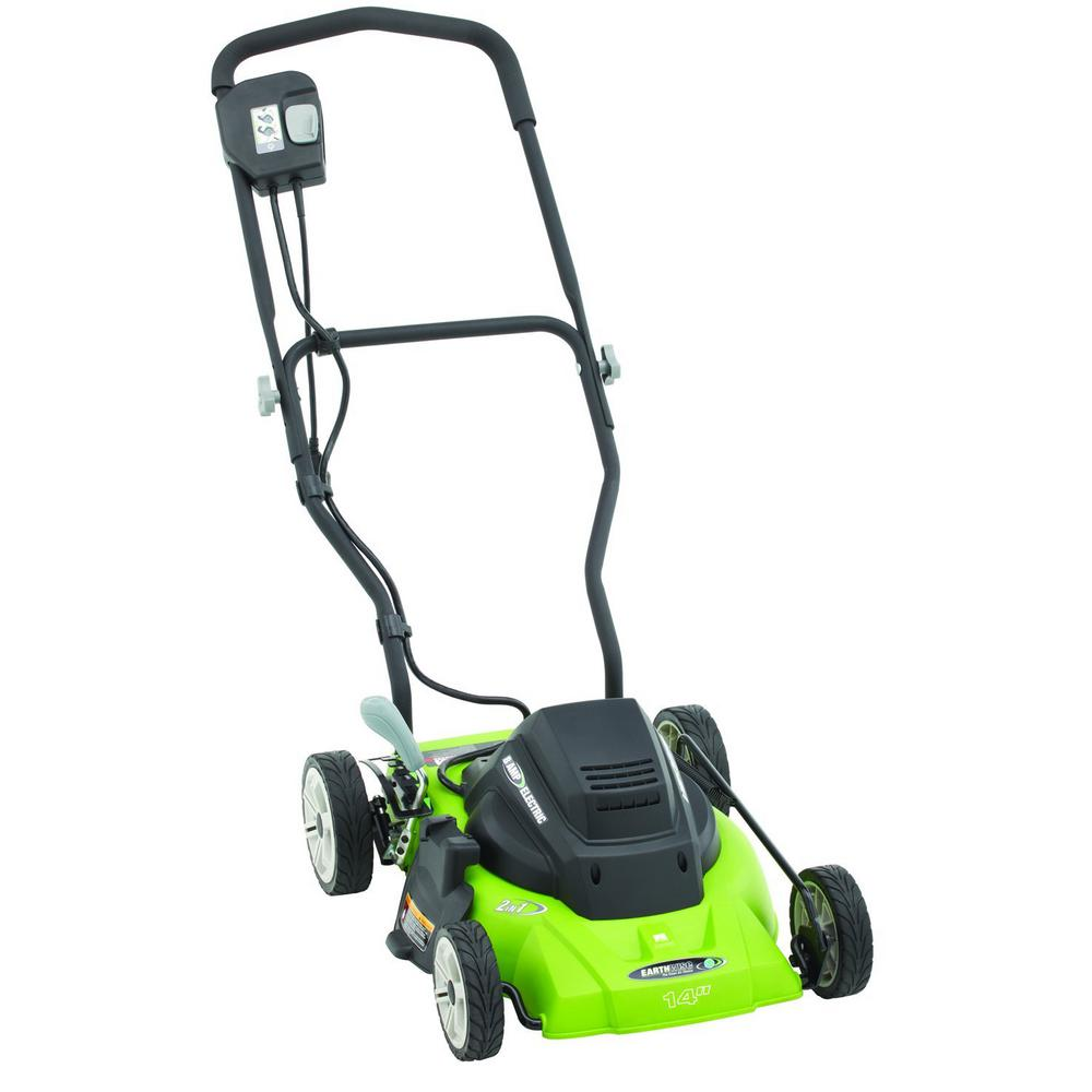 Earthwise 14 in. 120-Volt Corded Electric Lawn Mower