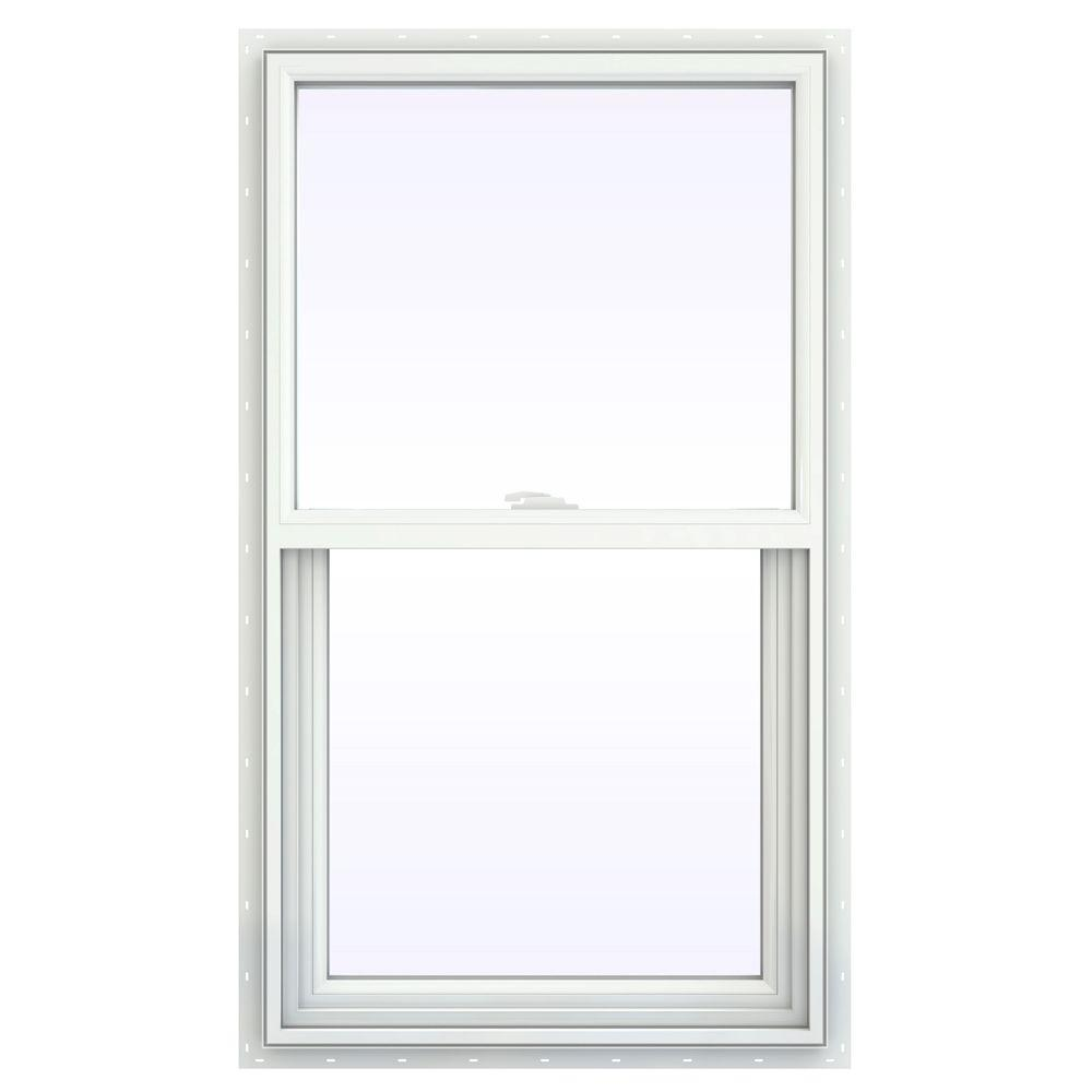 23.5 in. x 47.5 in. V-2500 Series Single Hung Vinyl Window