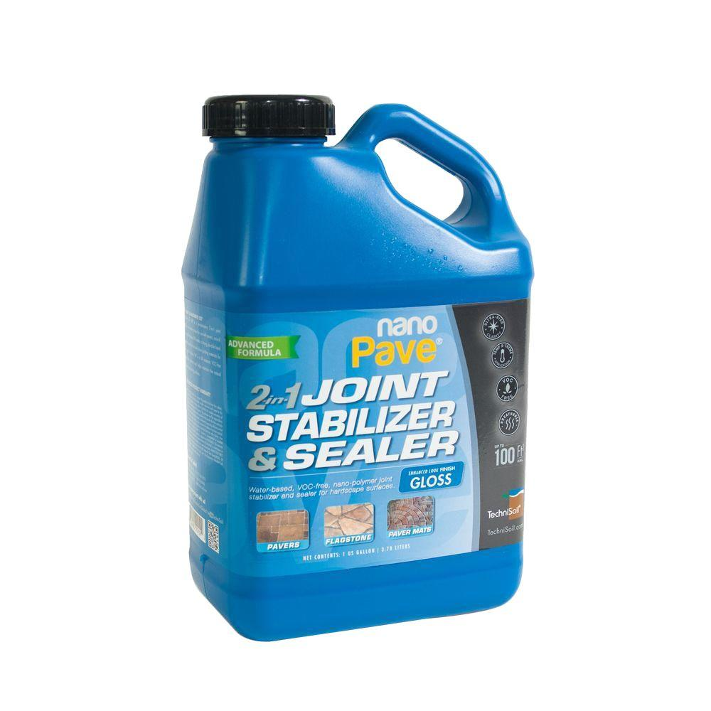 TechniSoil 1-gal. NanoPave JSS Gloss 2-in-1 Joint Stabilizer and Sealer