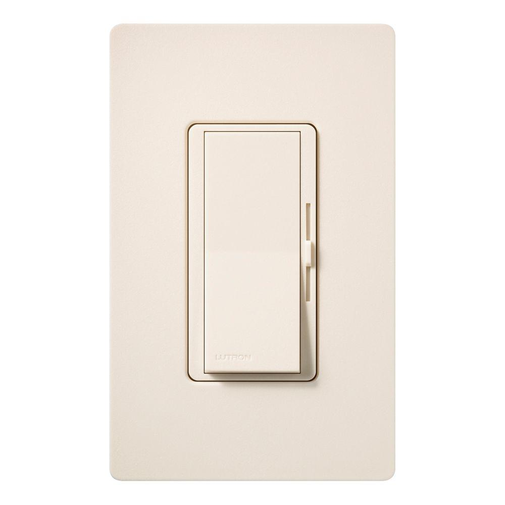 Diva 600-Watt 3-Way Magnetic Low-Voltage Dimmer - Eggshell