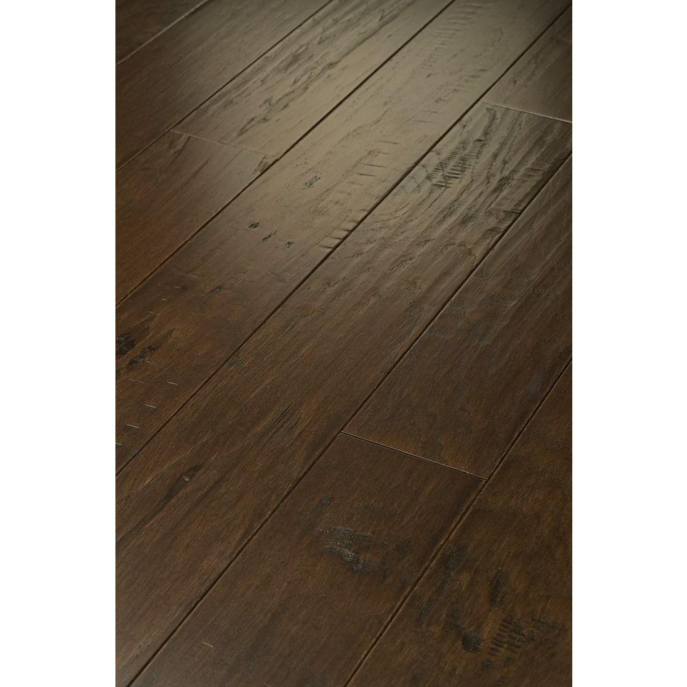 Shaw Western Hickory Saddle 3/8 in. Thick x 3-1/4 in. Wide x Random Length Engineered Hardwood (19.80 sq. ft. / case)