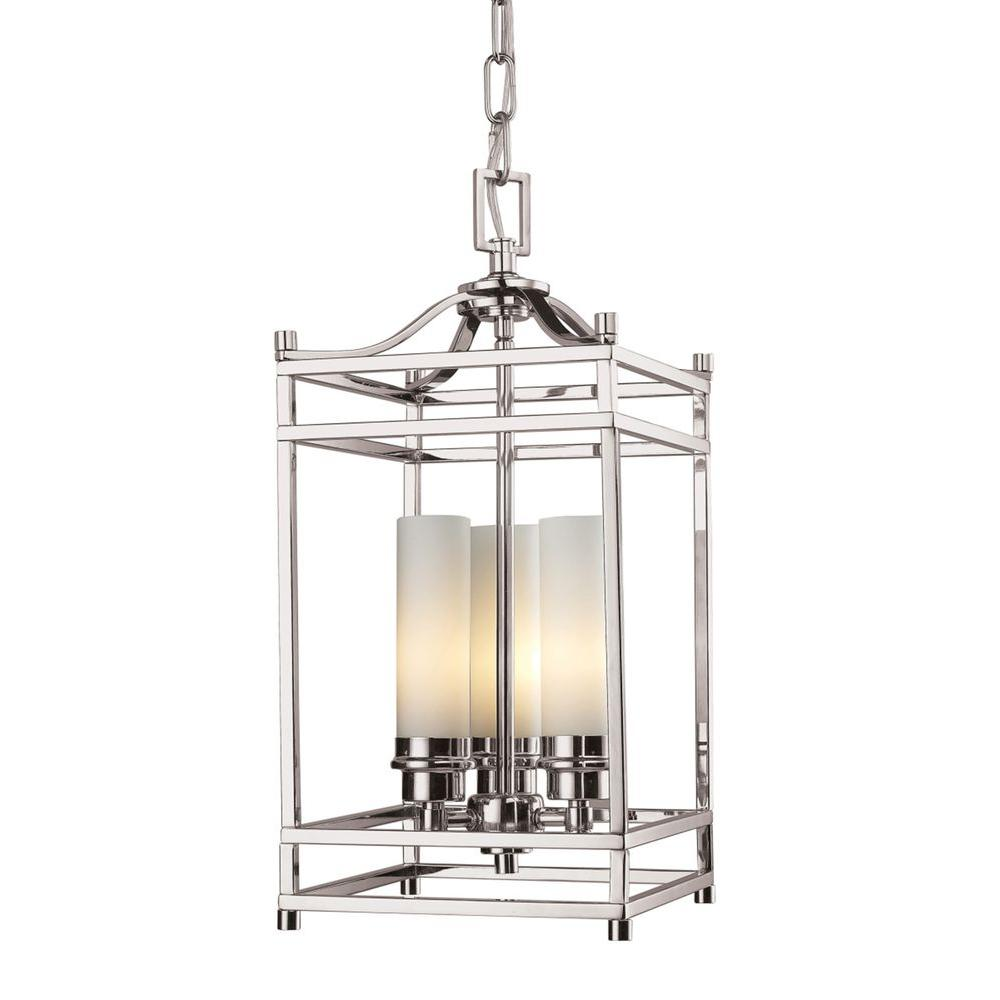 Aerial 3-Light Brushed Nickel Pendant