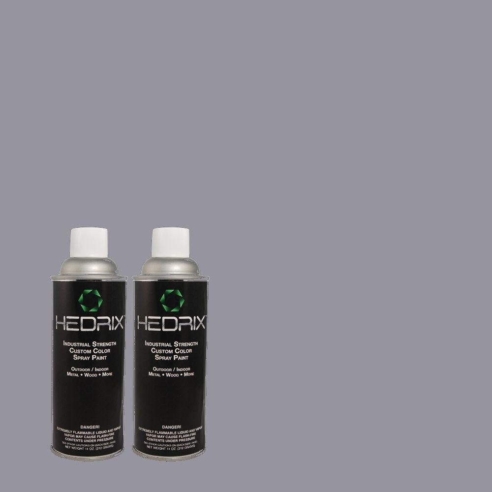 Hedrix 11 oz. Match of MQ5-16 Montage Low Lustre Custom Spray Paint (2-Pack)