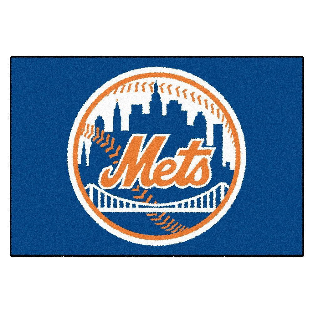 New York Mets 19 in. x 30 in. Accent Rug