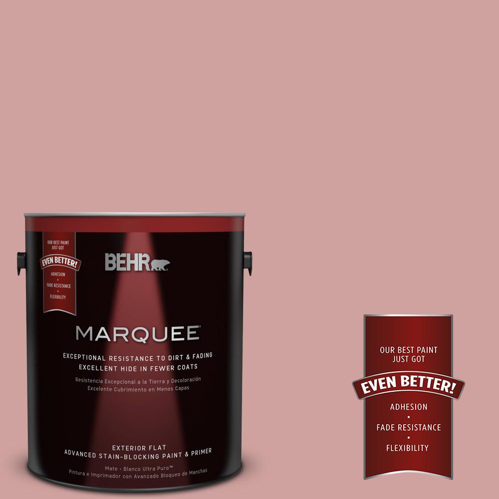 BEHR MARQUEE 1-gal. #S150-3 Rose Pottery Flat Exterior Paint