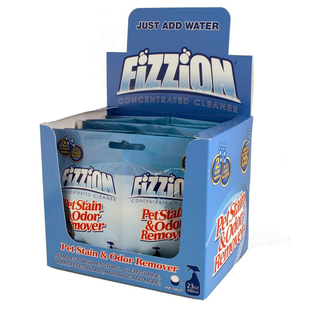 Fizzion 23 oz. 2-Refill Pet Stain and Odor Remover Tablet (Case of 6)