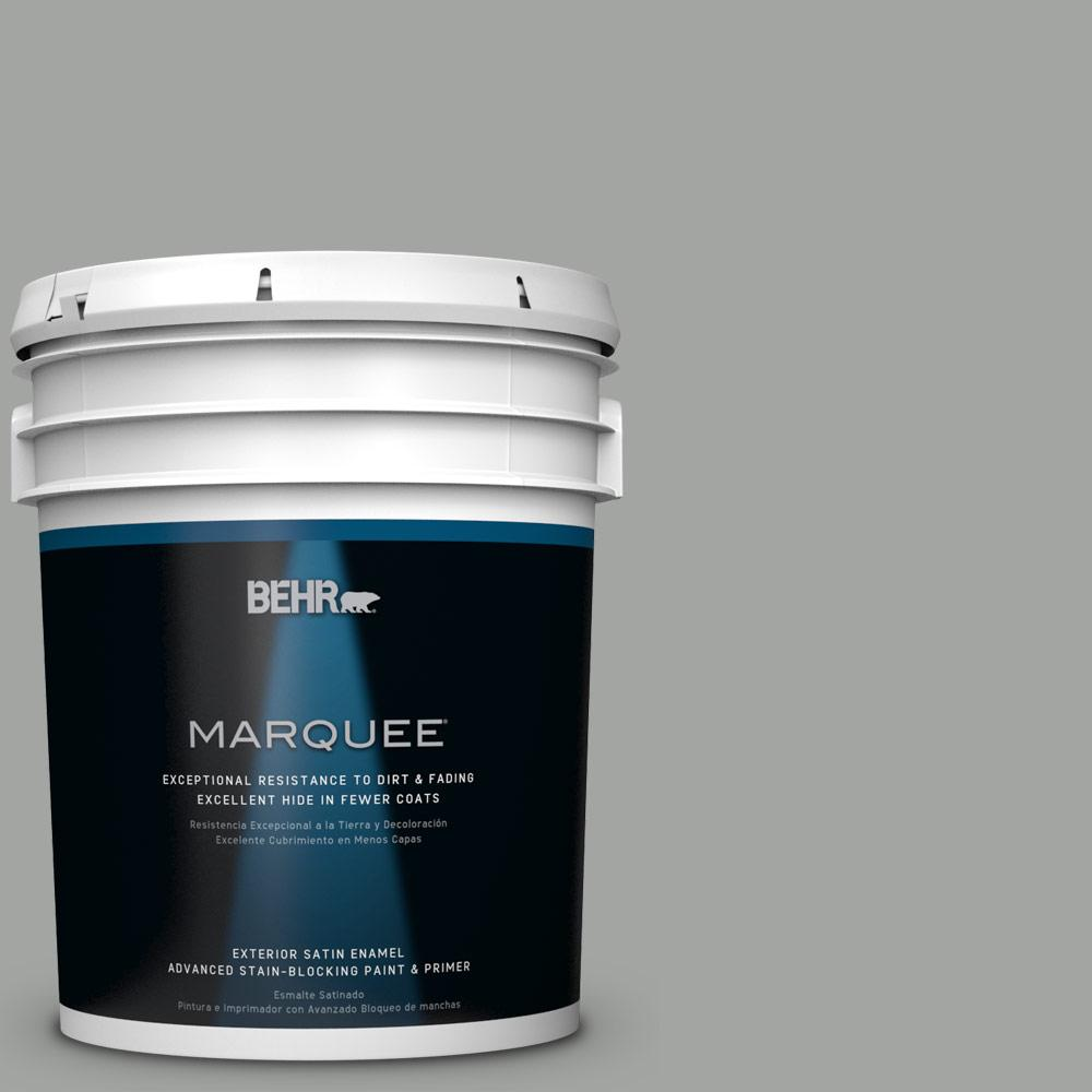 5 gal. #PPU24-18 Great Graphite Satin Enamel Exterior Paint
