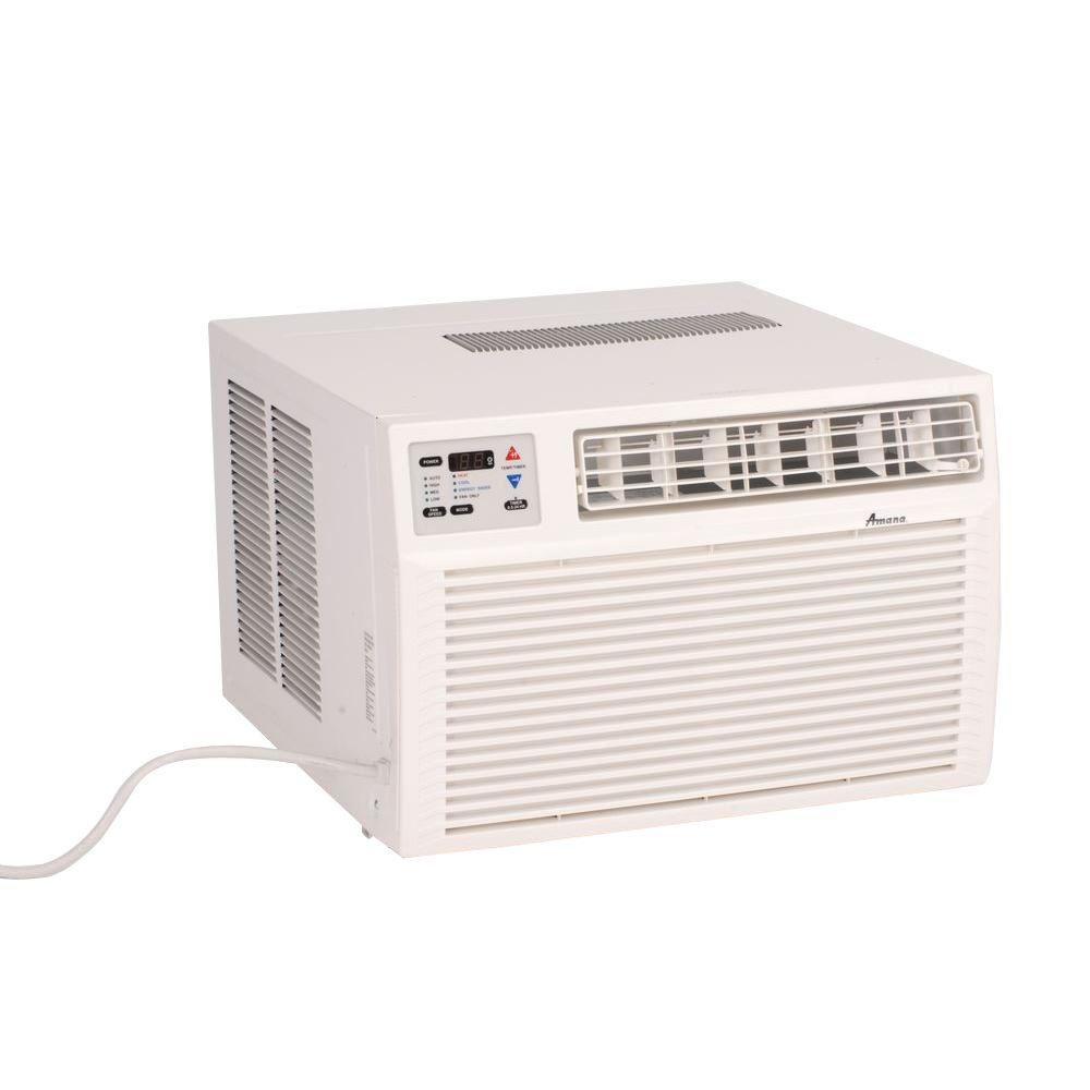 9,000 BTU R-410A Window Air Conditioner with 3.5 kW Electric Heat