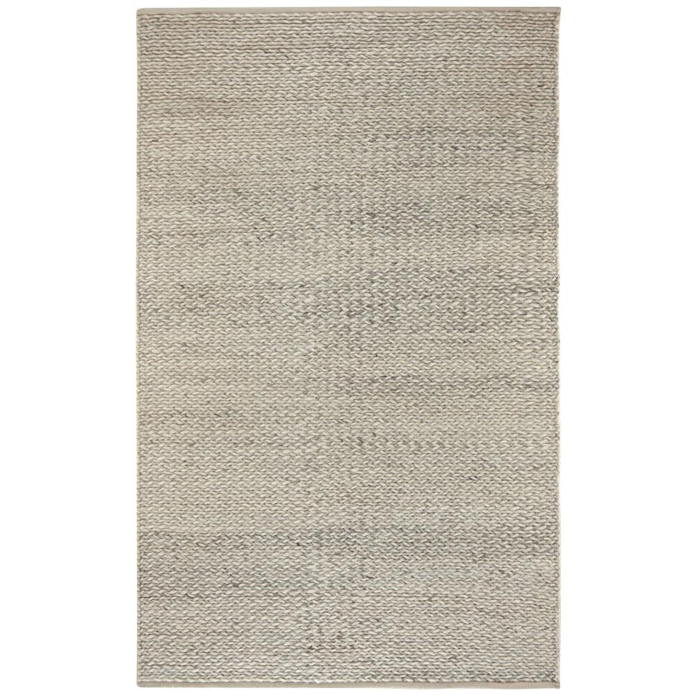 Vancouver Silver 9 ft. x 12 ft. Area Rug