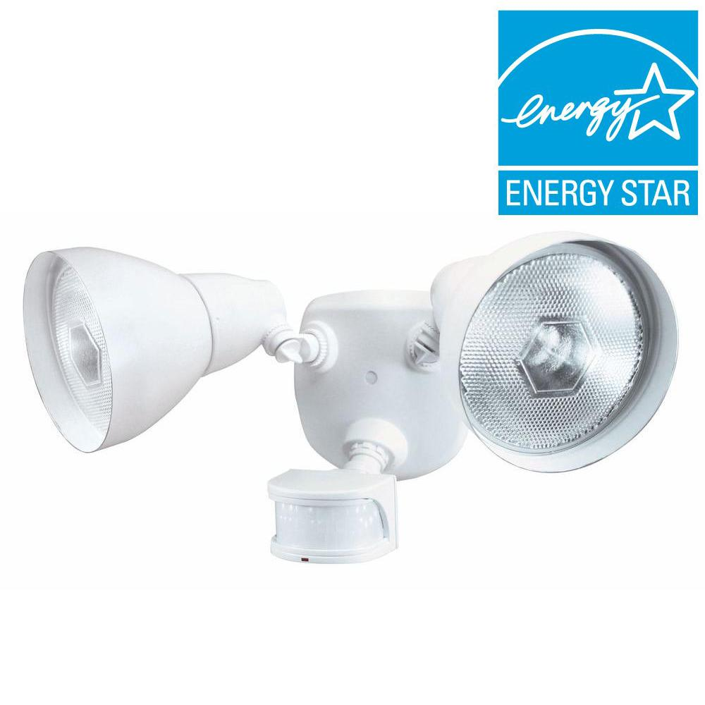 DEFIANT 270-Degree Outdoor Motion-Sensing Security Light