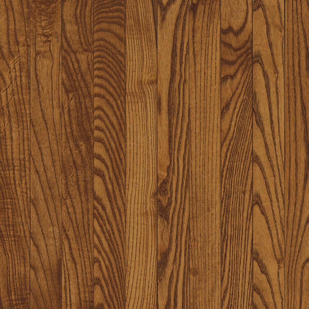 Bruce Bayport Oak Low Gloss Fawn 3/4 in. Thick x 2-1/4