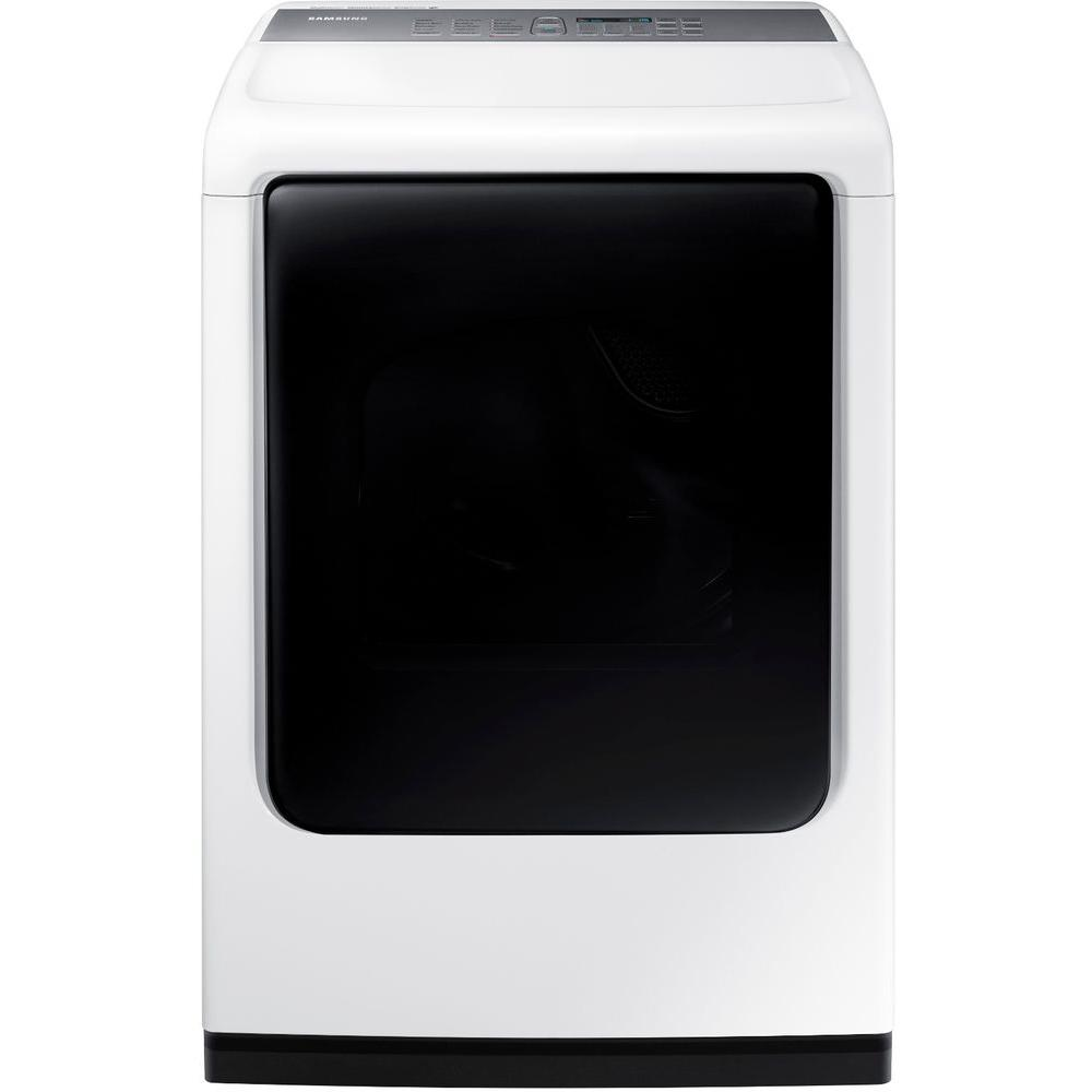 7.4 cu ft. Electric Dryer with Mid Controls and Steam in