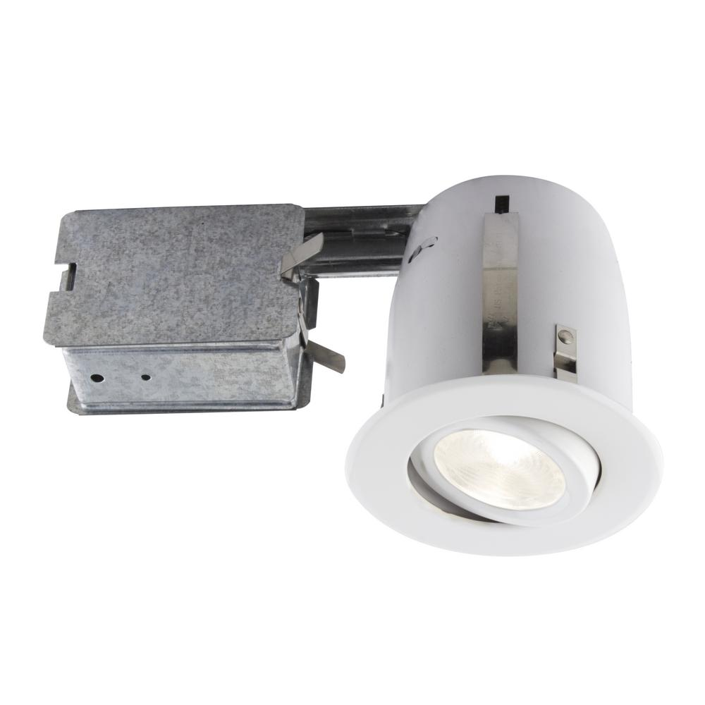 Recessed Lighting Installation Insulated Ceiling : Bazz in white slim multidirectional recessed