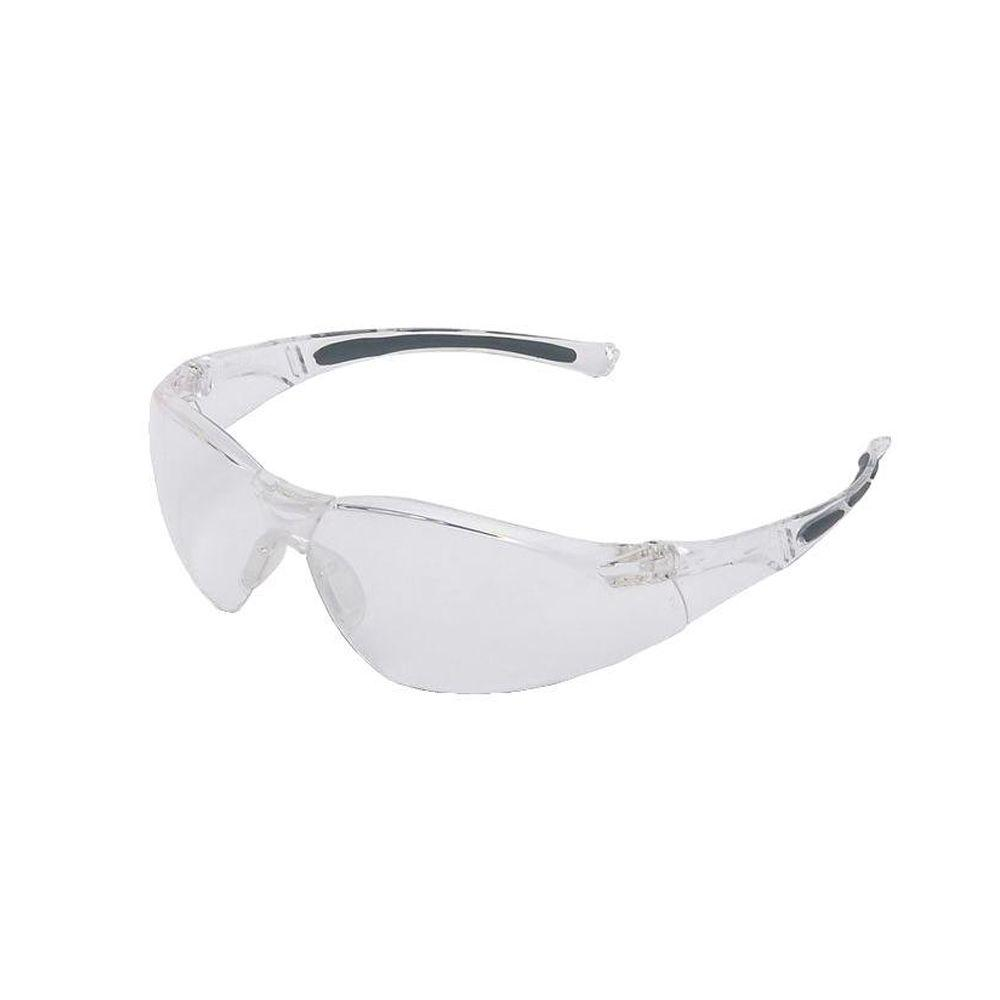 A800 Series Wrap-Around Safety Glasses with Clear Tint Fog-Ban Anti-Fog Lens