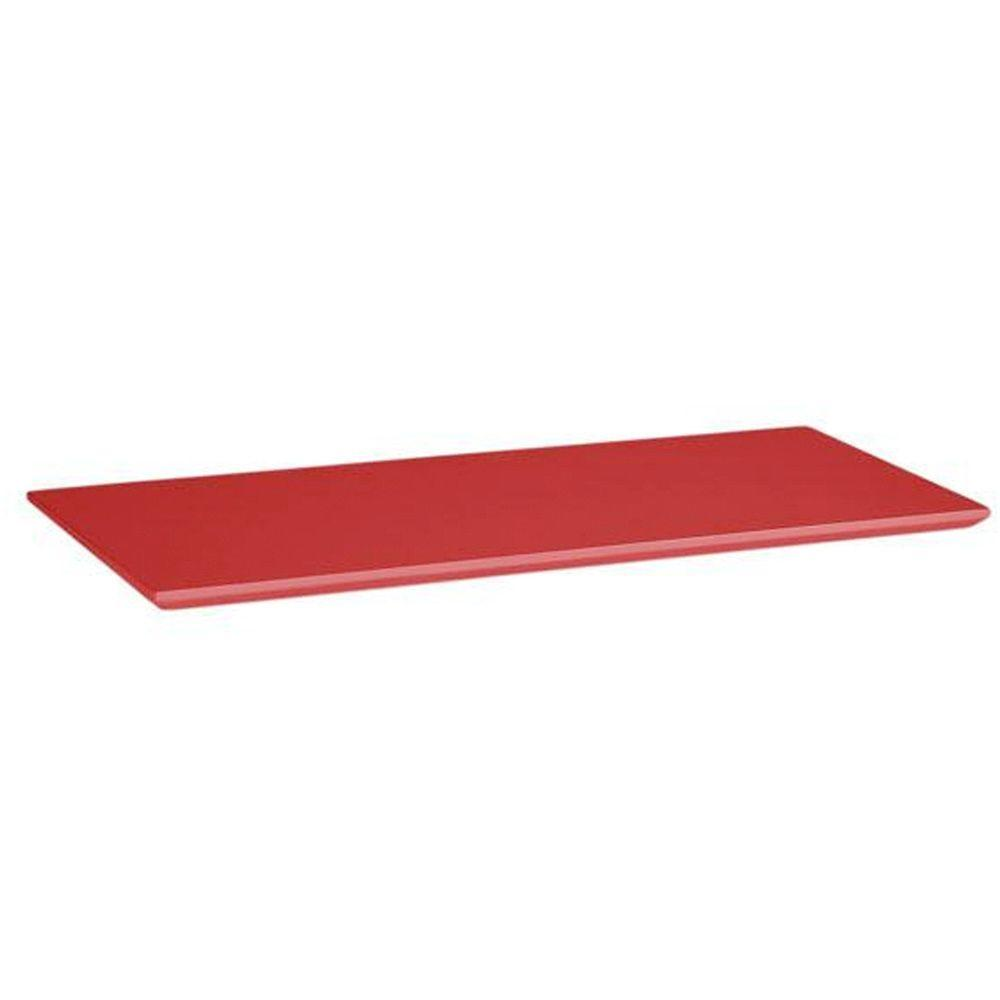 Home Decorators Collection Mantle Top Red Folding and Stacking 1-Shelf
