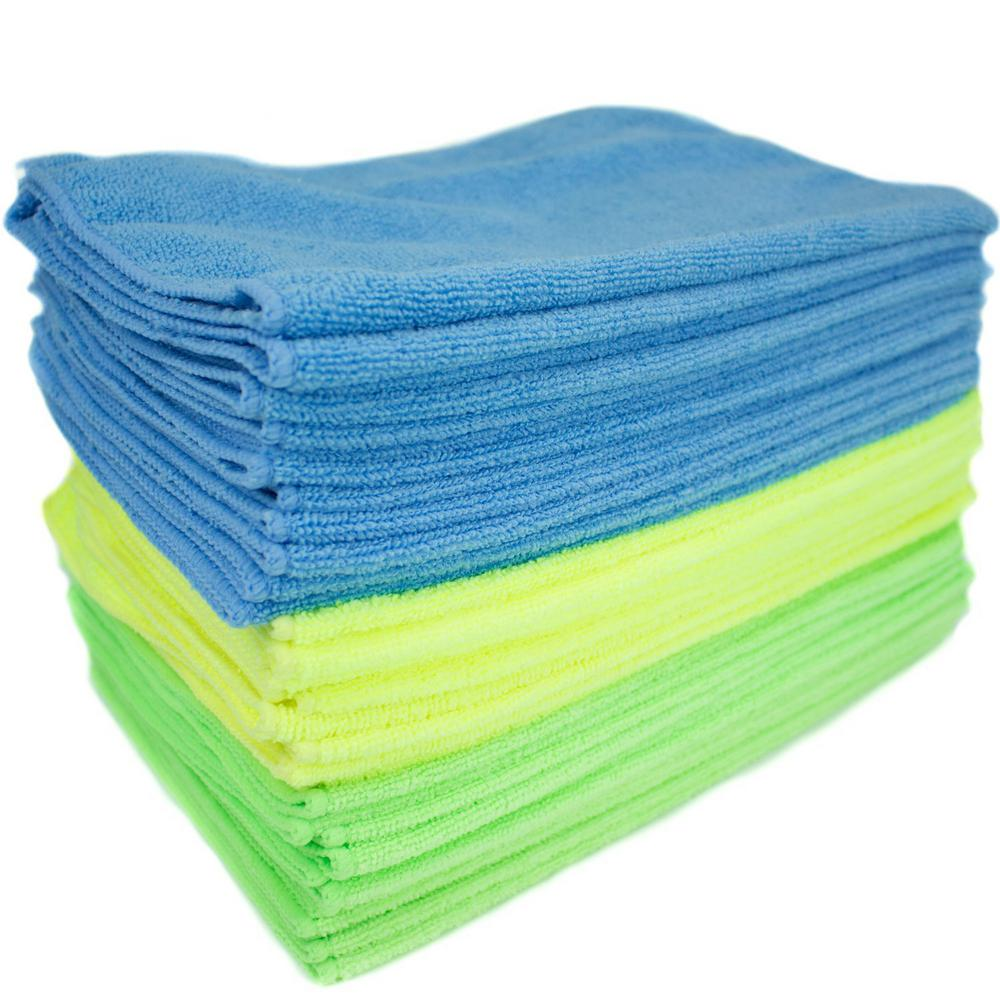Zwipes Microfiber Cleaning Cloth (36-Pack)-737 - The Home Depot